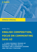 English Composition, Focus on Commenting (AFB III).