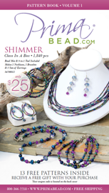 13 Free Jewelry Patterns From Prima Bead book