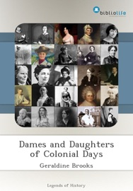Dames and Daughters of Colonial Days PDF Download