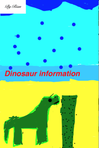 Dinosaur Information Book Review