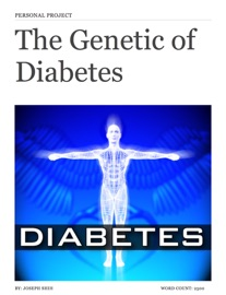 Personal Project Product Genetic Of Diabetes