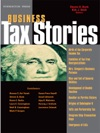Bank And Starks Business Tax Stories An In Depth Look At The Ten Leading Corporate And Partnership Tax Cases And Code Sections Stories Series