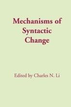 Mechanisms Of Syntactic Change
