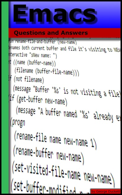 Emacs: Questions and Answers by George Duckett on Apple Books