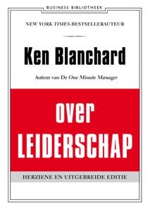 Ken Blanchard over leiderschap Boekomslag