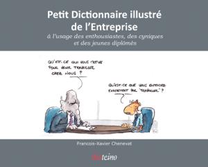 Petit dictionnaire illustré de l'Entreprise La couverture du livre martien