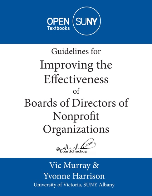 improving nonprofit performance Improving quality and performance in your nonprofit organization: an introduction to change management strategies for the 21st century [gary m grobman phd] on.