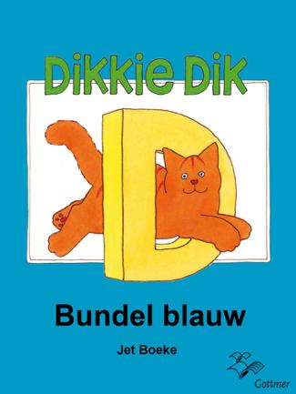 Dikkie Dik bundel blauw - Jet Boeke & Arthur van Norden