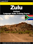 Zulu (IsiZulu) Language Audio Training Course
