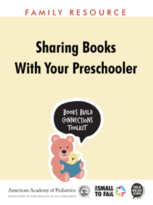 Sharing Books with Your Preschooler Book Review