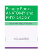 BEAUTY BOOKS ANATOMY and PHYSIOLOGY