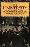 The University An Owners Manual