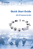 GeoVision GV-IPCAM H.264 Quick Start Guide