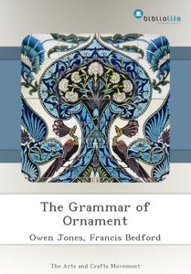 The Grammar of Ornament Copertina del libro
