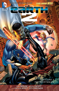 Earth 2 Vol. 5: The Kryptonian Libro Cover