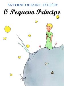 O Pequeno Príncipe Capa de livro