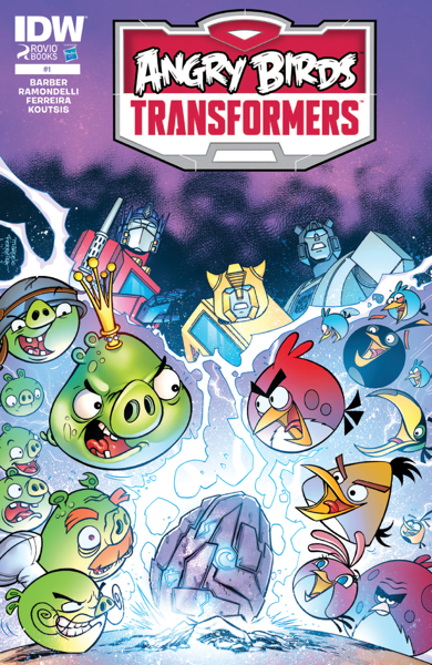 Angry Birds/Transformers #1