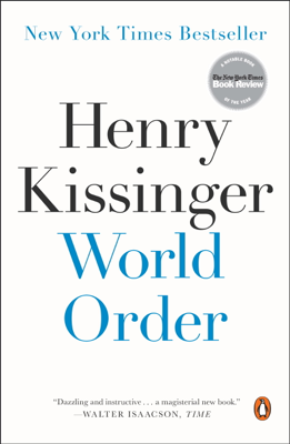 World Order - Henry Kissinger book