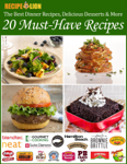 The Best Dinner Recipes, Delicious Desserts, & More: 20 Must-Have Recipes