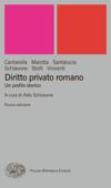Diritto privato romano Book Cover