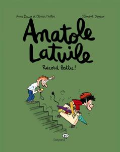 Anatole Latuile, Tome 04 La couverture du livre martien