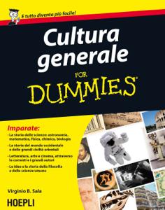 Cultura generale for Dummies Copertina del libro