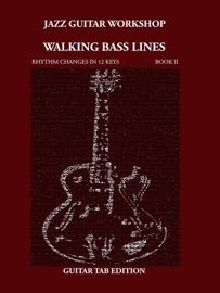 WALKING BASS LINES RHYTHM CHANGES IN 12 KEYS