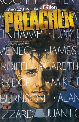 Preacher Book Five - Garth Ennis & Steve Dillon book