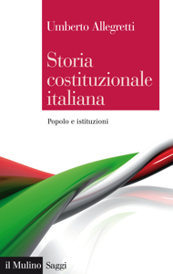 Storia costituzionale italiana Copertina del libro