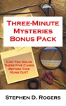 Three-Minute Mysteries Bonus Pack