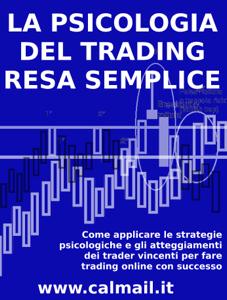 La psicologia del trading resa semplice. Copertina del libro