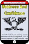 Boldness And Confidence Text Messages From Jesus Book 75