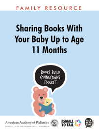 Sharing Books with Your Baby up to Age 11 Months book