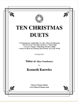 Christmas Duets.Ten Christmas Duets For Tubas Or Bass Trombones