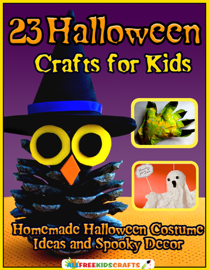 23 Halloween Crafts for Kids: Homemade Halloween Costume Ideas and Spooky Decor book