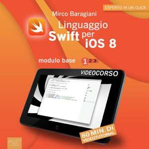 Linguaggio Swift per iOS 8. Videocorso Book Cover