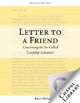 Letter to a Friend