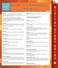 Medical Terminology: Heart (Speedy Study Guides)