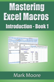 Mastering Excel Macros: Introduction book