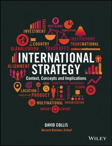International Strategy Copertina del libro