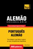 Vocabulário Português-Alemão: 9000 palavras mais úteis Book Cover