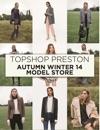 Topshop Preston AW14 Model Store Handbook