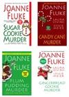 Joanne Fluke Christmas Bundle Sugar Cookie Murder Candy Cane Murder Plum Pudding Murder  Gingerbread Cookie Murder