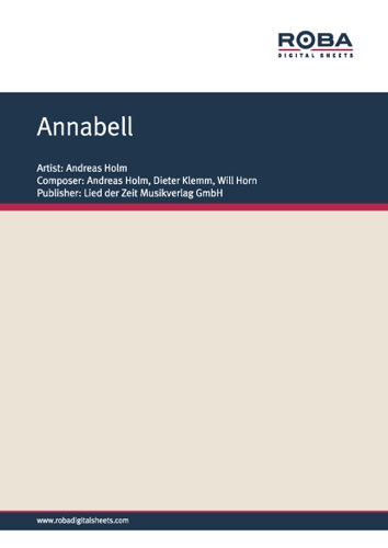 Andreas Holm - Annabell