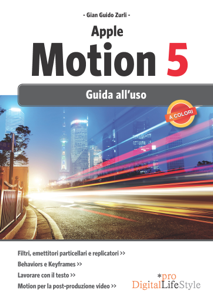 Apple Motion 5 Copertina del libro