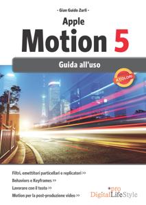 Apple Motion 5 Copertina del libro