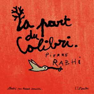 La part du colibri (version illustrée) La couverture du livre martien