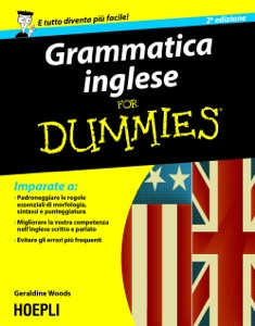 Grammatica inglese For Dummies Book Cover