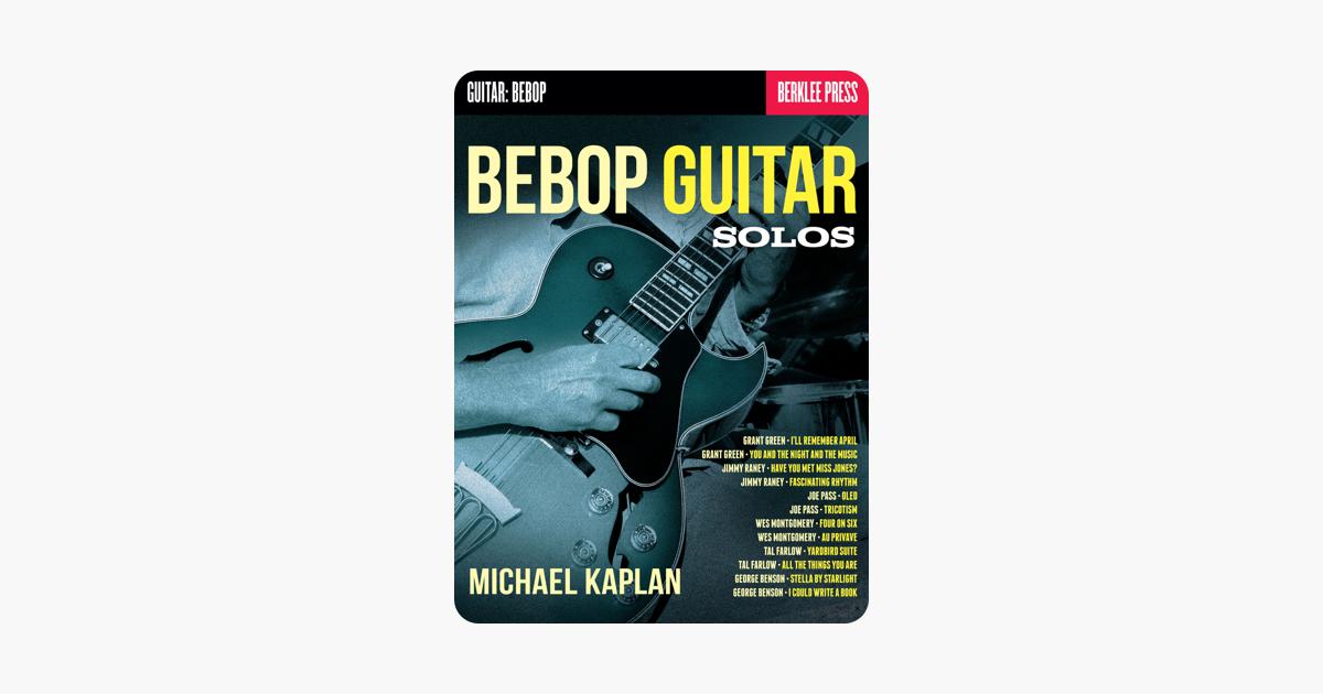 Bebop Guitar Solos