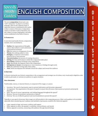 English Composition - Speedy Publishing book